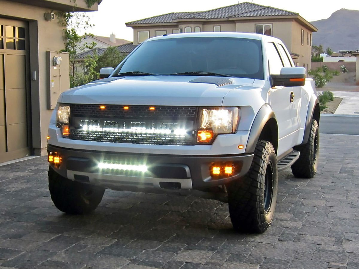 Rigid 2010 2014 Ford F 150 Svt Raptor Fog Light
