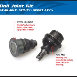 BALL JOINT KIT POLARIS MID-SIZED RANGER