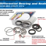 DIFFERENTIAL BEARING AND SEAL KIT-0