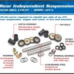 REAR INDEPENDENT SUSPENSION KIT
