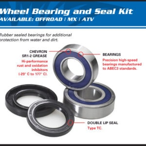 WHEEL BEARING & SEAL KIT POLARIS
