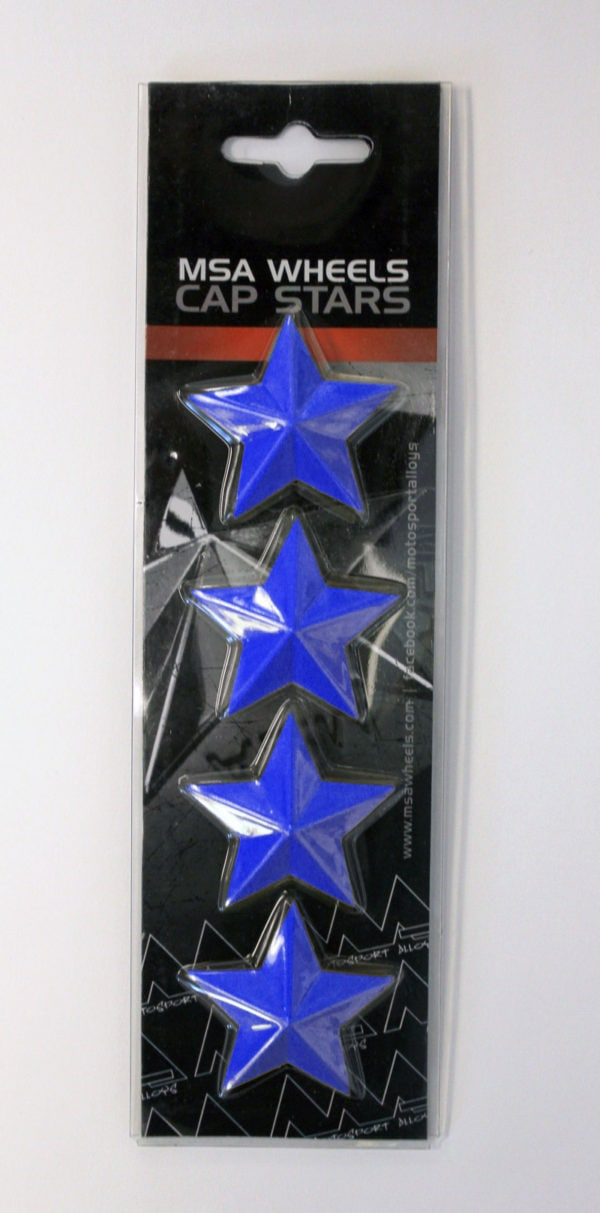 MSA CAP STAR-BLUE