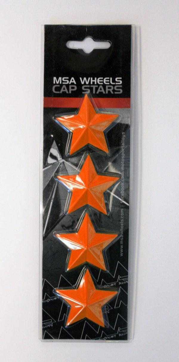 MSA CAP STAR-ORANGE