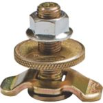 ASSEMBLED UTILITY LOCK AND THREADED STUD