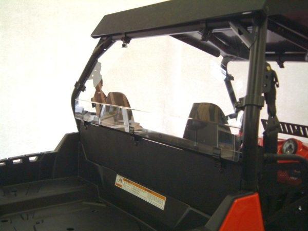 RZR 570/800 REAR SHIELD/BACK PANEL COMBO
