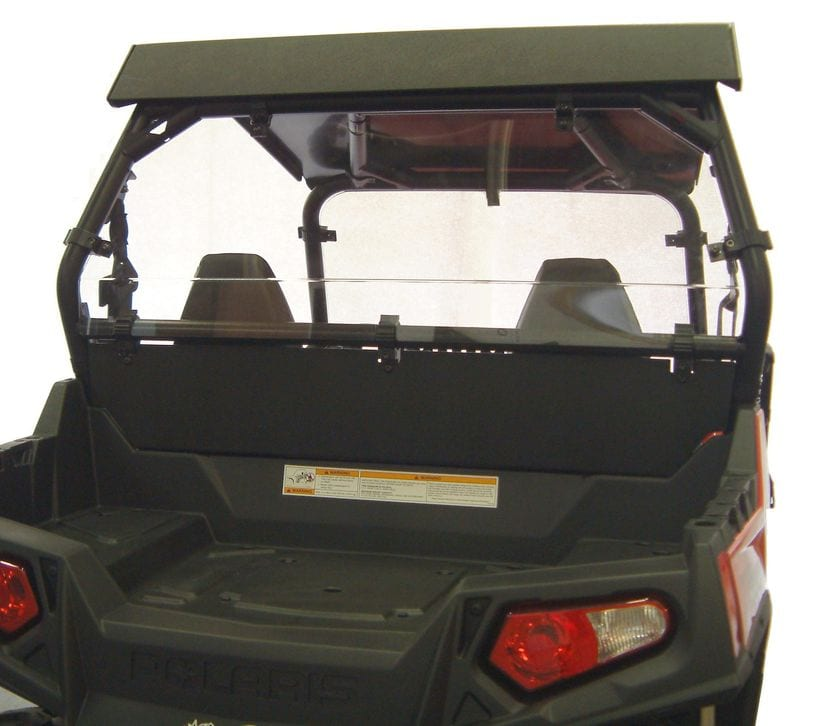 RZR XP 900 REAR SHIELD/ BACK PANEL COMBO