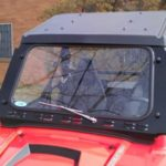 RZR LAMINATED SAFETY GLASS WINDSHIELD W/WIPER