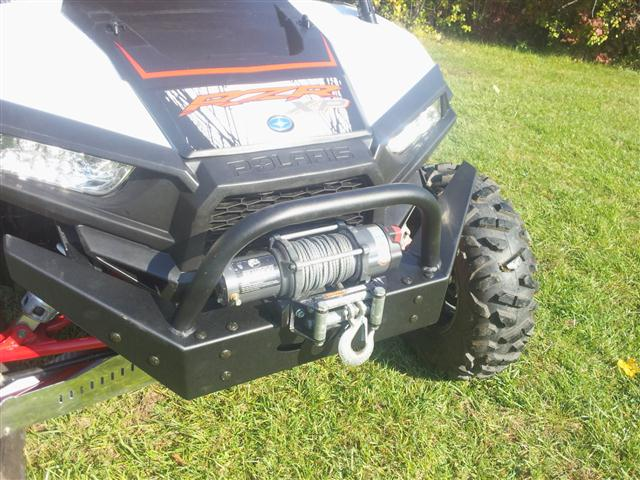 EMP FRONT BUMPER WITH WINCH MOUNT POLARIS RZR XP 1000 on