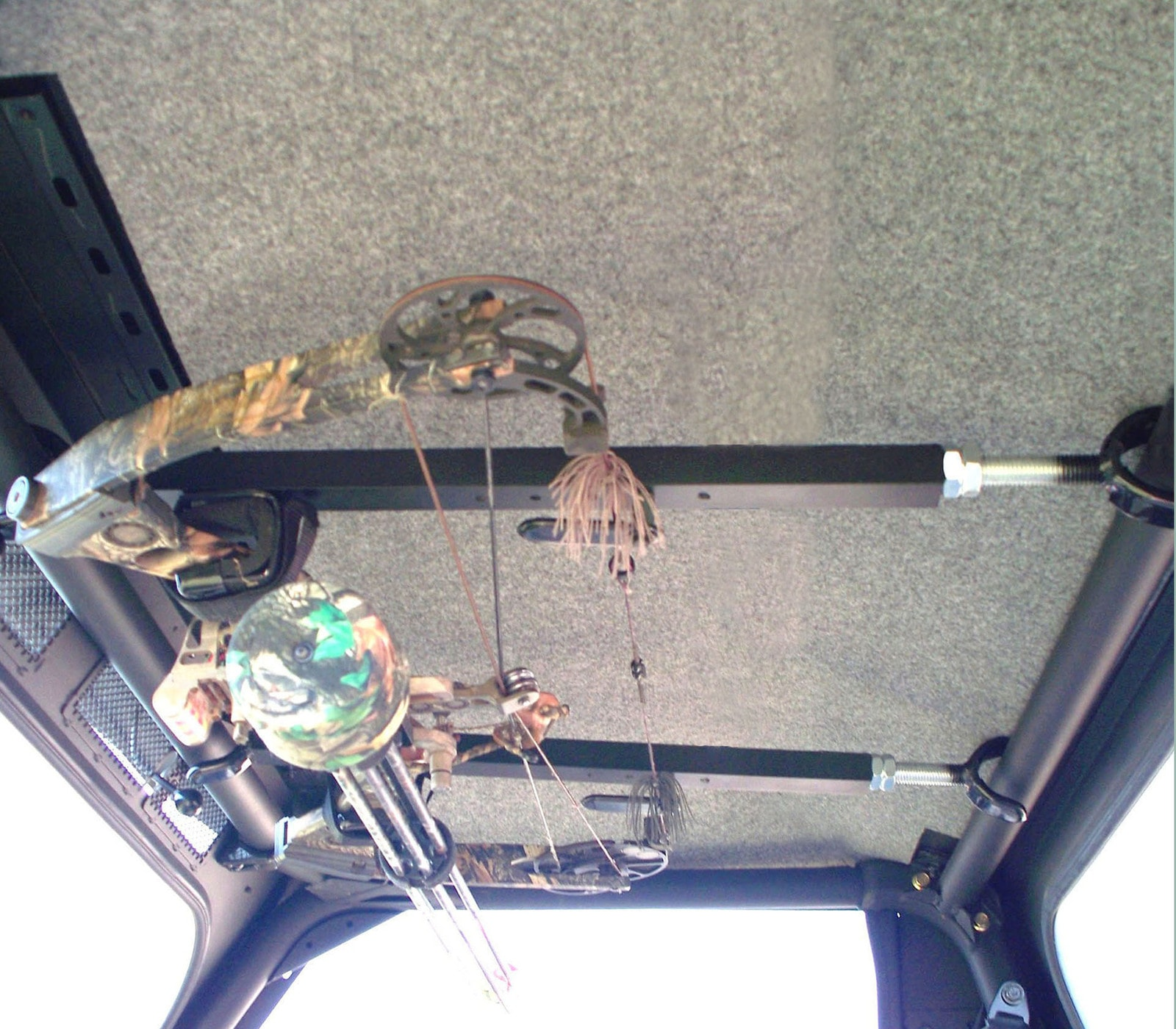 Quick Draw Overhead Bow Rack For 28 35 Roof Can Am Commander Utv Jeep Wrangler