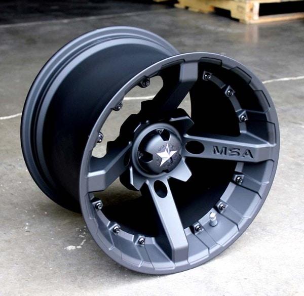 "14"" 4/115 BATTLE FLAT BLACK"