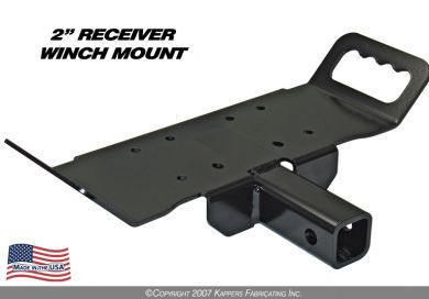"2"" RECEIVER WINCH MOUNT"