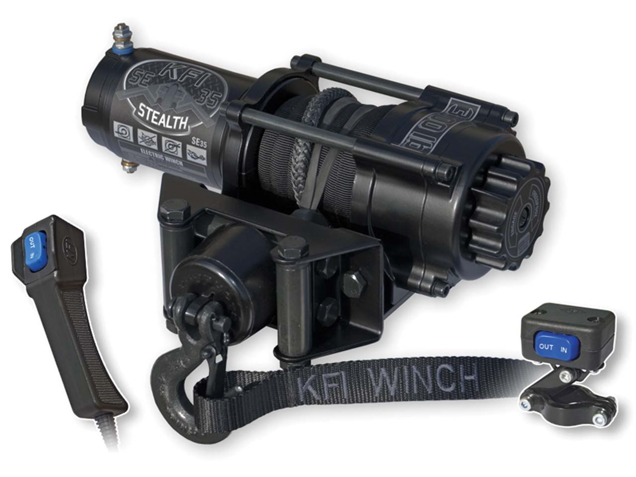 STEALTH 3500 LB SYNTHETIC WINCH