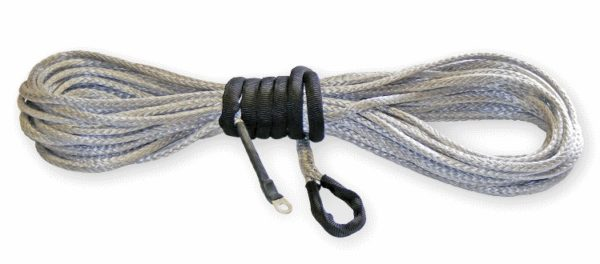 """KFI 50' SYNTHETIC WINCH CABLE 3/16"""""""" - SMOKE-0"""