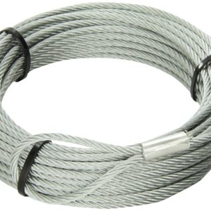 """KFI 45' WINCH REPLACEMENT CABLE 3/16"""""""" - 2500-3500 LBS-0"""