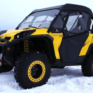 COMMANDER FULL CAB ASSEMBLY WITH AERO-VENT LEXAN WINDSHIELD