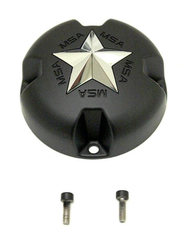STAR BOLT ON CAP - FLAT BLACK
