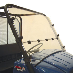 KAWASAKI MULE 4000/4010 FOLDING WINDSHIELD