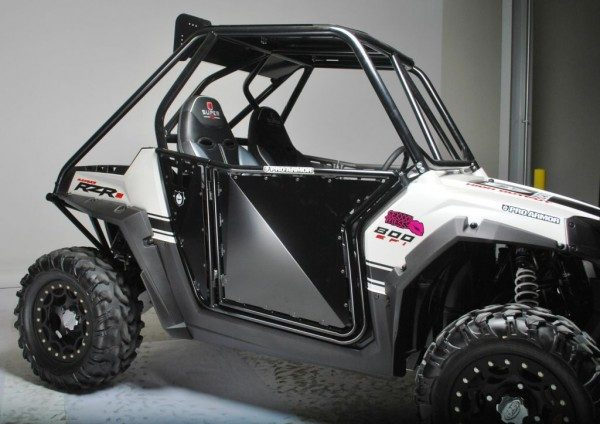 Pro Armor RZR Doors No Cutouts