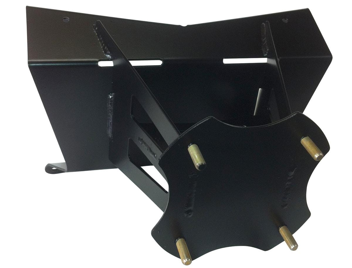 RZR XP 900 SPARE TIRE CARRIER - BLACK