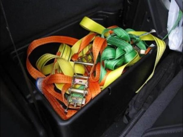 "RETRACTABLE TIE DOWN STRAP QUICKLOADER 4500 SINGLE PACK 15' X 1.25""""-1976"