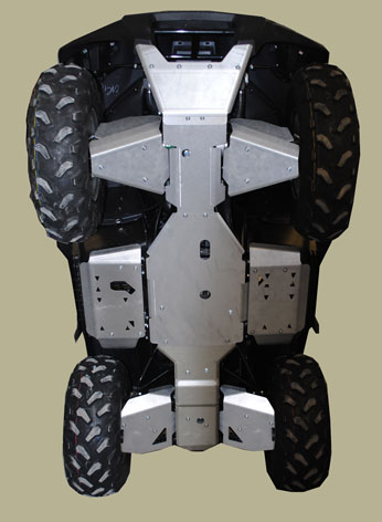 Kawasaki Brute Force Complete Skid Plate