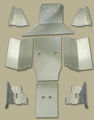 Prowler 1000 Full Aluminum Skid Plate