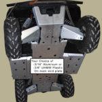 Ranger 800XP Full Aluminum Skid Plate