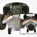 RZR 1K-4 Complete Skid Plate - Aluminum