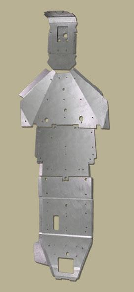 RZR XP1K Full Frame Skid Plate