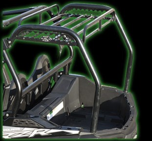 RZR 800 CARGO RACK - 2012+ LE - FITS MODELS WITH BED EXTENSION