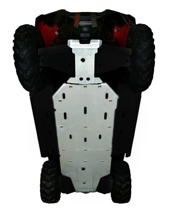 RZR 570 2012-14 ALUMINUM CENTRE SKID