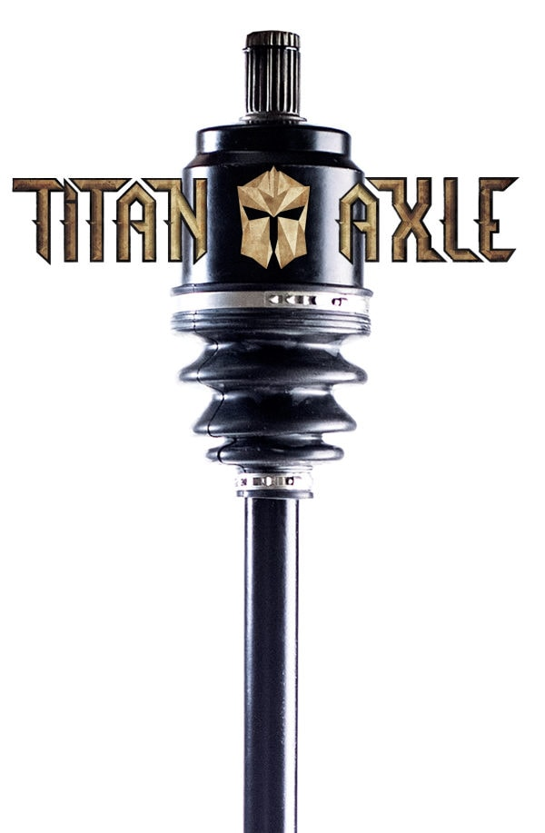 Commander 800/1000 Titan Rear Axle