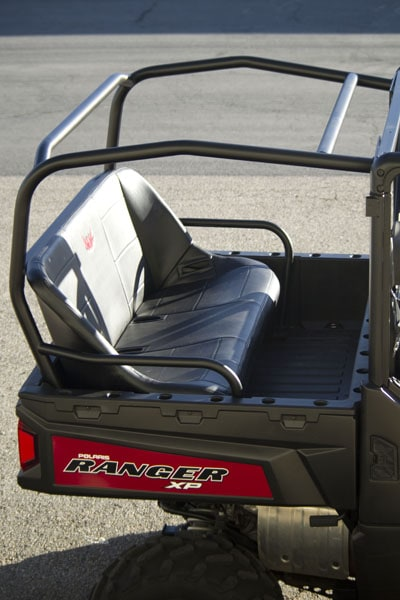 "RGR 900 CAGE EXTENSION (DISCOVERY) C/W 52"" BENCH SEAT & LAP BELTS"