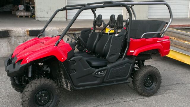 YAMAHA VIKING CAGE EXTENSION (DISCOVERY) C/W 3 PASS BENCH SEAT, 3 LAP BELTS