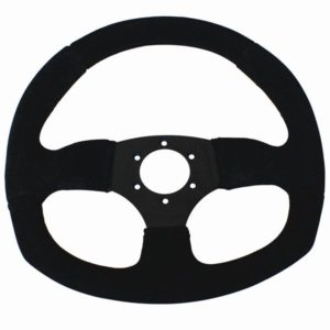 SUEDE D STEERING WHEEL