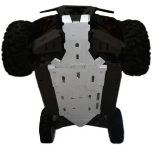 4-Piece Full Frame Skid Plate Set, Can-Am Maverick MAX