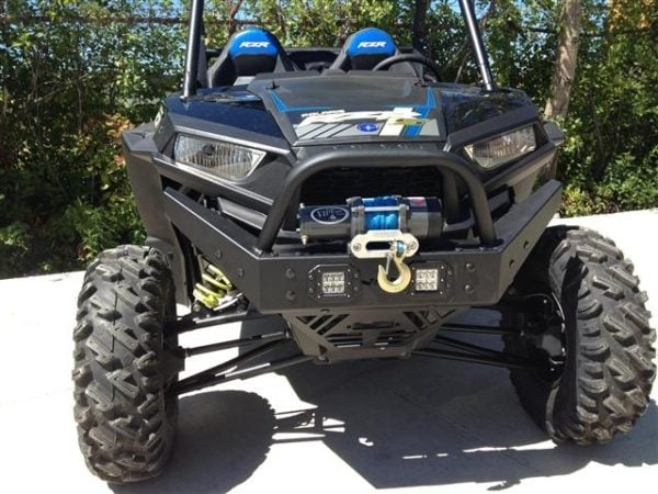 POLARIS RZR 1K/900 EXTREME FRONT BUMPER WITH LED LIGHTS BY EMP