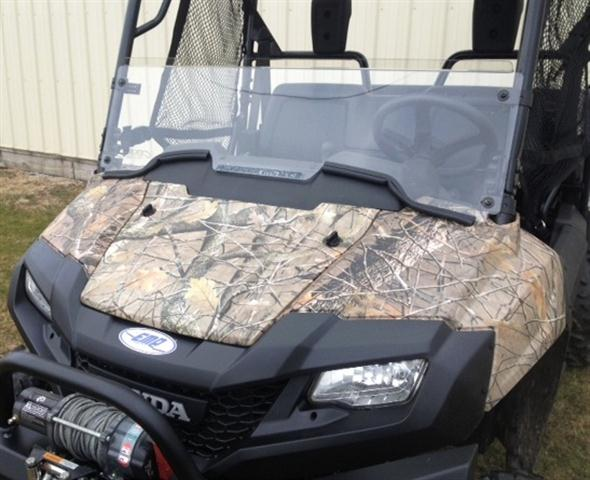 Honda Pioneer Half Windshield with Fast Straps