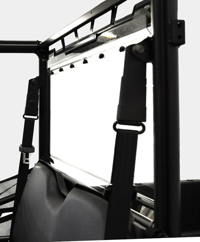 POLARIS RANGER MID-SIZE & EV 2015 REAR WINDSHIELD