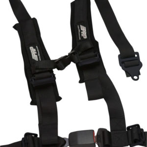 4 PT 2: BLACK HARNESS WITH AUTO LATCH