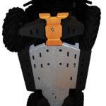 RICOCHET 4 PIECE FULL FRAME CENTER SKID - POLARIS RANGER 900XP/570 FULL SIZE