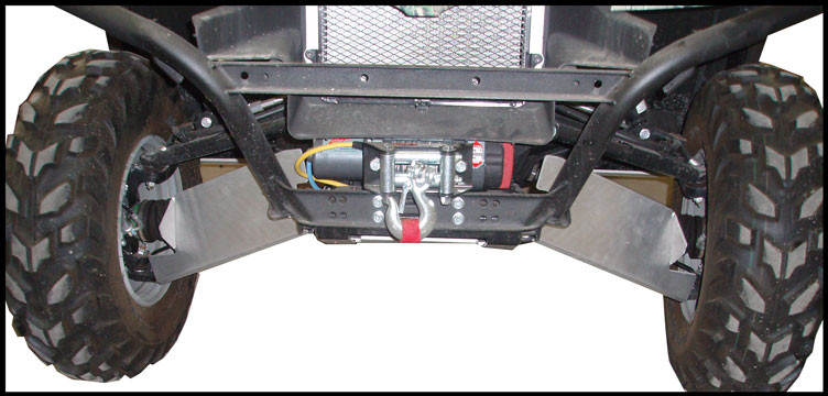RICOCHET 4 PIECE A-ARM/CV BOOT GUARD SET KAWASAKI TERYX