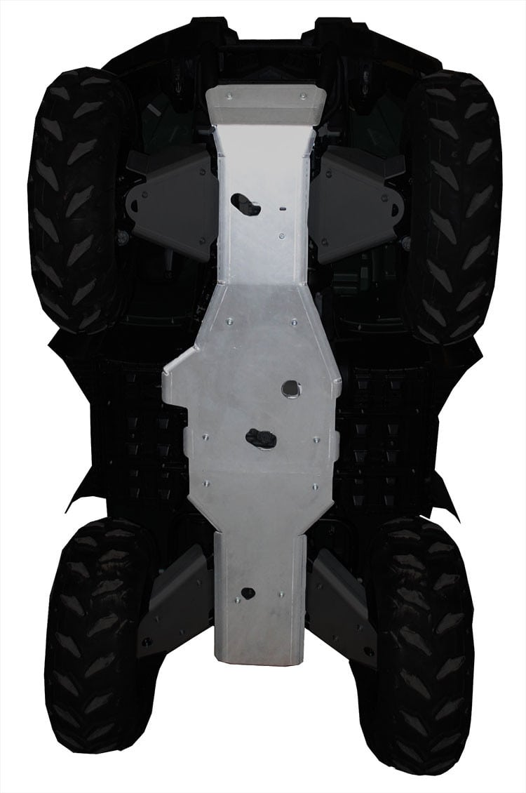 RICOCHET GRIZZLY 450 2PC CENTER SKID PLATE