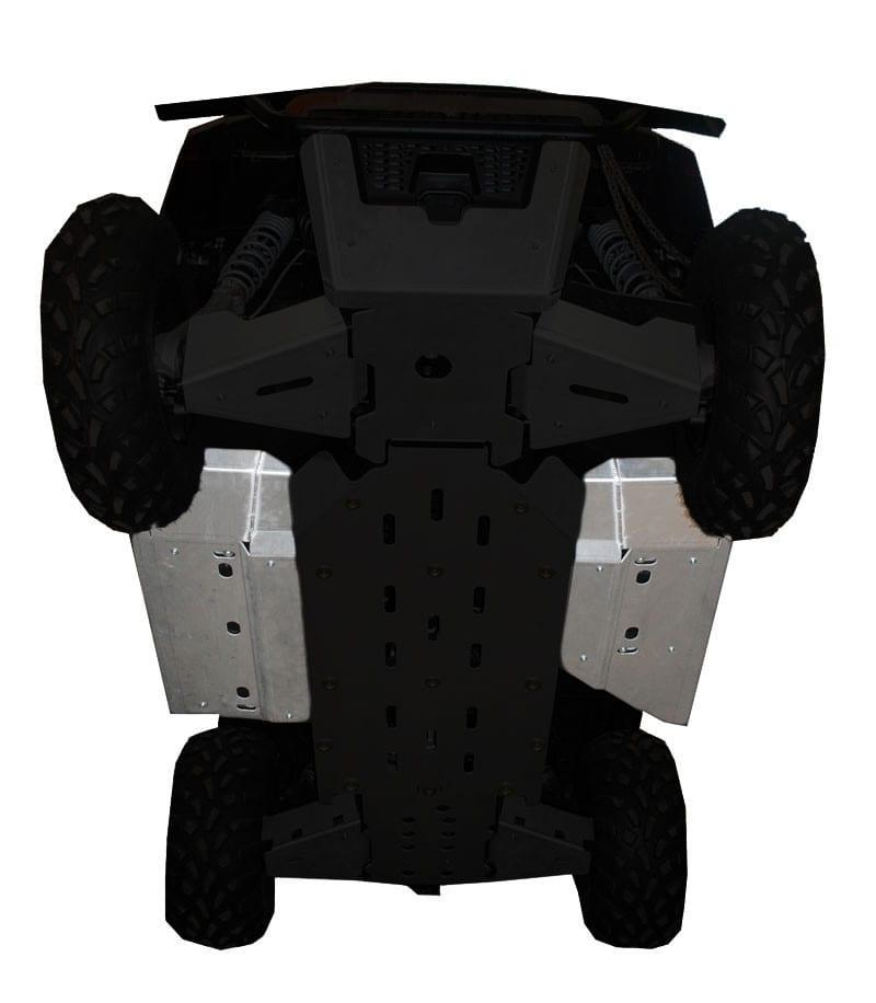 RICOCHET 2 PIECE ROCK SLIDER/FLOOR BOARD SKID - POLARIS RANGER 570 MID-SIZE 2014 ONLY