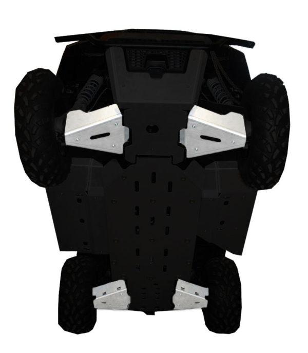 RICOCHET 4 PIECE A-ARM/CV BOOT GUARD SET - POLARIS RANGER 500/800 MID SIZE