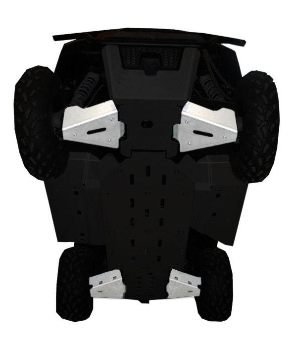RICOCHET 4 PIECE A-ARM/CV BOOT GUARD SET - POLARIS RANGER 570 MID-SIZE