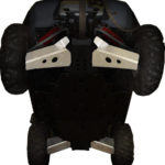 FRONT & REAR A-ARM GUARDS FOR POLARIS RZR-S 800