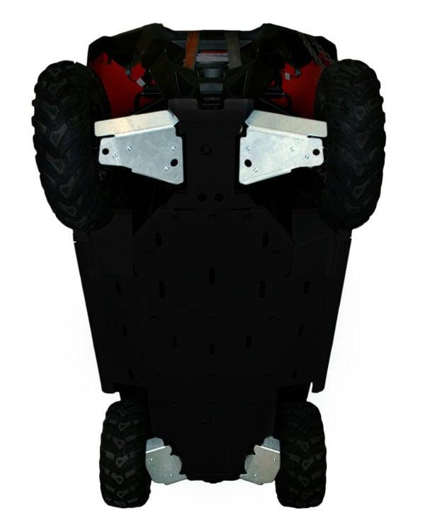 RICOCHET 4 PIECE A-ARM/CV BOOT GUARD SET RZR 800