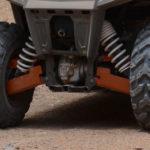 RICOCHET 4 PIECE A-ARM/CV BOOT GUARD SET RZR 800 (ANODIZED)