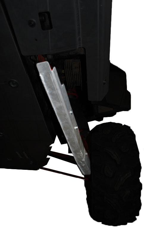 RICOCHET 2 PIECE REAR TRAILING ARM GUARD SET RZR 900 XP
